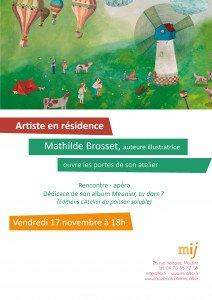 ouverture atelier Mathilde